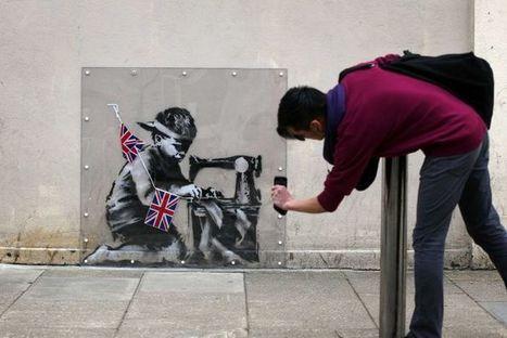 Banksy graffiti pulled from auction | ABC Radio Australia | Street art news | Scoop.it