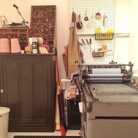 Letterpress Craft Night   letterpress printing   Scoop.it