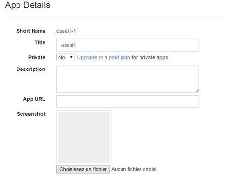 Créer une application Web sans connaissance aucune | Applications du Net | Scoop.it