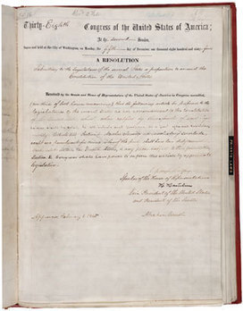 13th Amendment to the U.S. Constitution: Abolition of Slavery | 13th amendment | Scoop.it