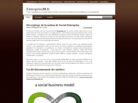 Décryptage de la notion de Social Enterprise.   SocialWebBusiness   Scoop.it