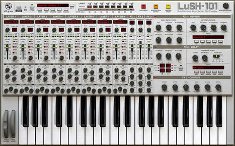 Review: D16 Group LusH-101 Synth Plugin by Cee Lopez   Sleep and Dreams   Scoop.it