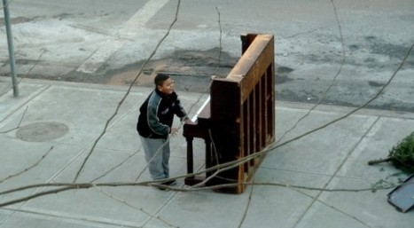 A Day in the Life of a Homeless Piano: A Short Film by Anthony Sherin | Creatively Aging | Scoop.it