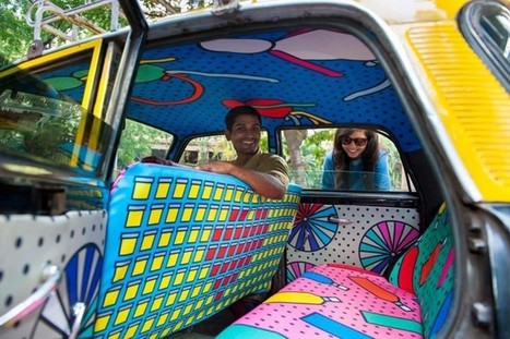 India: Taxi Seats As A Showcase For Young Designers In Mumbai | Beyond London Life | Scoop.it