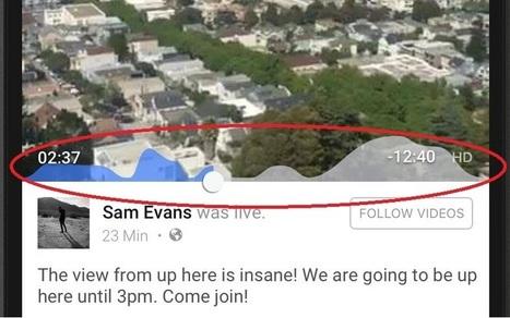 Facebook Live Vidéo introduit les Réactions et les moments de pic d'engagement | Usages professionnels des médias sociaux (blogs, réseaux sociaux...) | Scoop.it