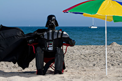 Darth Vader is on summer vacation too… | Ufunk.net | Star Wars, l'origine du Geek | Scoop.it