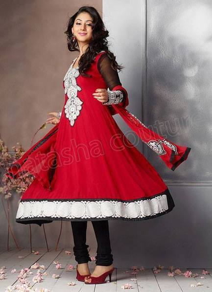 Natasha couture Anarkali Suits & Frocks Collection 2013   fashion   Scoop.it
