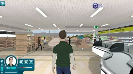 Jeu: Viens faire un stage dans un magasin virtuel! | fleenligne | Scoop.it