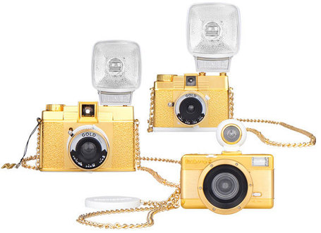 "New Gold Edition Cameras From Lomography | ""Cameras, Camcorders, Pictures, HDR, Gadgets, Films, Movies, Landscapes"" 