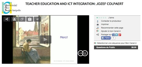 Teacher education and ICT integration: reassuring lies versus inconvenient truths: Jozef Colpaert | TELT | Scoop.it