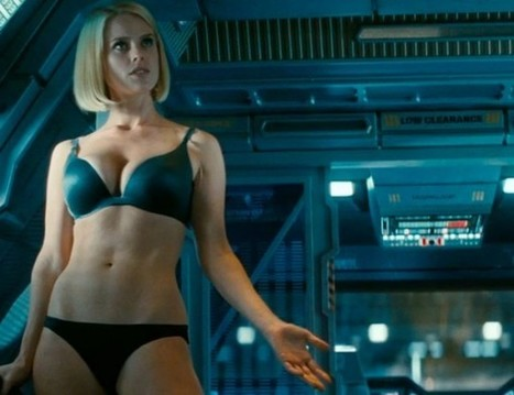 New Star Trek Poster Is Your Reward For Not Ogling Alice Eve In Her Underwear | Sci-Fi | Scoop.it