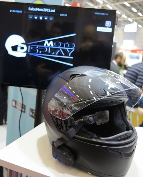 French startup plugs smartglasses into bikers' helmets - Electronics Eetimes | Motorcycle Rider Today | Scoop.it