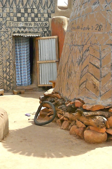 Voici un village africain où chaque maison est une œuvre d'Art | The Blog's Revue by OlivierSC | Scoop.it