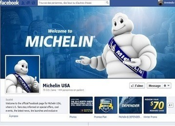Michelin maîtrise Facebook et Twitter | CommunityManagementActus | Scoop.it