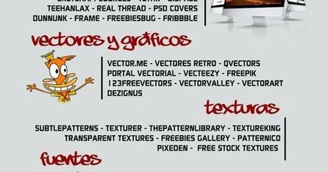 82 sitios para descargar recursos creativos #infografia #infographic #design | Educació de Qualitat i TICs | Scoop.it