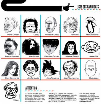 Angoulême 2013 : un nouveau mode de désignation du Grand Prix | Veille sur la bande dessinée pour tous | Scoop.it