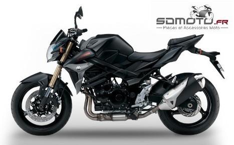Tuning Suzuki GSR 750 ! | accessoires motos | Scoop.it