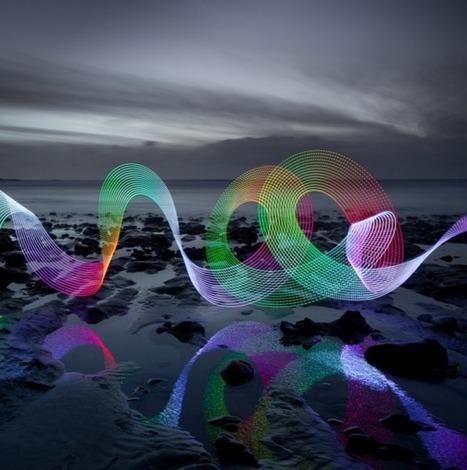 Le light painting millimétré de David Gilliver – Lense.fr | Photographie | Scoop.it