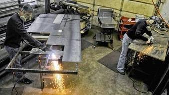 Sykesville couple to display metal artwork at annual craft show Feb. 22-24 in ... - Baltimore Sun   Metal Art   Scoop.it