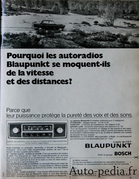 Publicité autoradios Blaupunkt | autopedia | Scoop.it