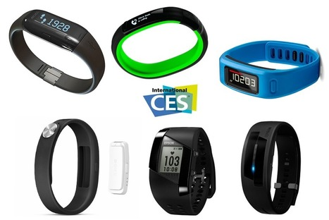 Le CES 2014 collectionne les bracelets d'activités connectés - | Innovations objets connectés | Scoop.it
