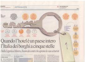 Lettera agli albergatori italiani: il successo dell'albergo diffuso può interessare anche voi | ALBERTO CORRERA - QUADRI E DIRIGENTI TURISMO IN ITALIA | Scoop.it