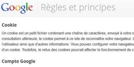 Google pourrait abandonner les cookies | Developpement | Scoop.it