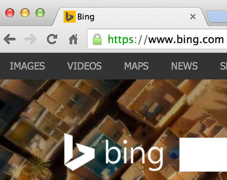 Bing Begins Supporting Separately SSL Search Site; Query Data Does Not Pass [Not Provided] | Digital Marketing | Scoop.it