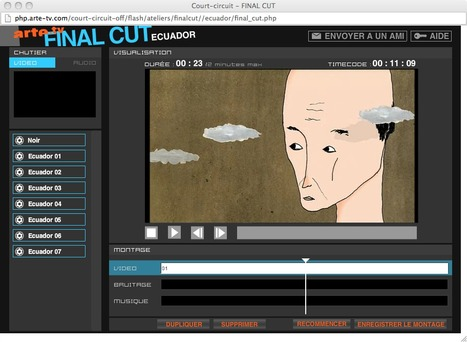.:: Court-circuit - Concours et ateliers en ligne - ARTE.TV | LE CINÉMA D'ANIMATION (2) - Les différentes techniques, du début à aujourd'hui. | Scoop.it