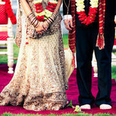 Indian Fusion Wedding from Allegro Photography + EFD Creative ... | Event Planner Delhi | Scoop.it