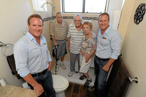 Twin plumbers give deserving Burbank family a new bathroom - Los Angeles Daily News   Plumbers Like Mario Brothers   Scoop.it