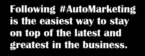 The #AutoMarketing Hashtag is a Must-Follow for Car Dealers | JD Rucker | DrivingSales | Digital Marketing for Car Dealers | Scoop.it