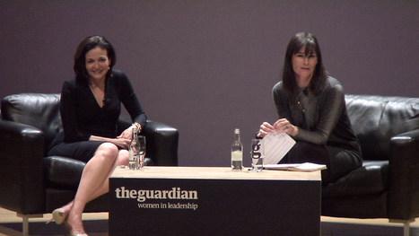 Facebook's Sheryl Sandberg speaking at a Guardian Women in Leadership Event | Genderomics | Scoop.it