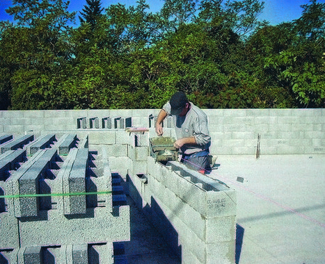 Actu bâtiment / RT 2012 : Le bloc béton prend sa revanche | Conseil construction de maison | Scoop.it