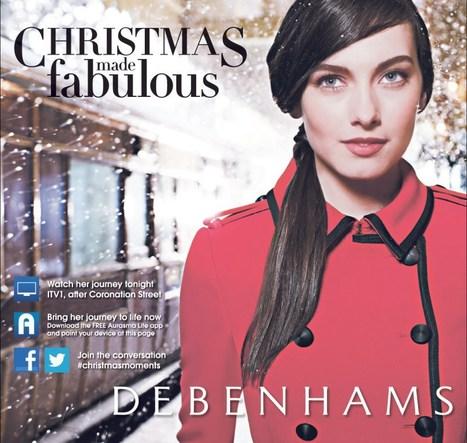 Debenhams uses Aurasma as part of its Christmas push | Hair Beauty Trends | Scoop.it