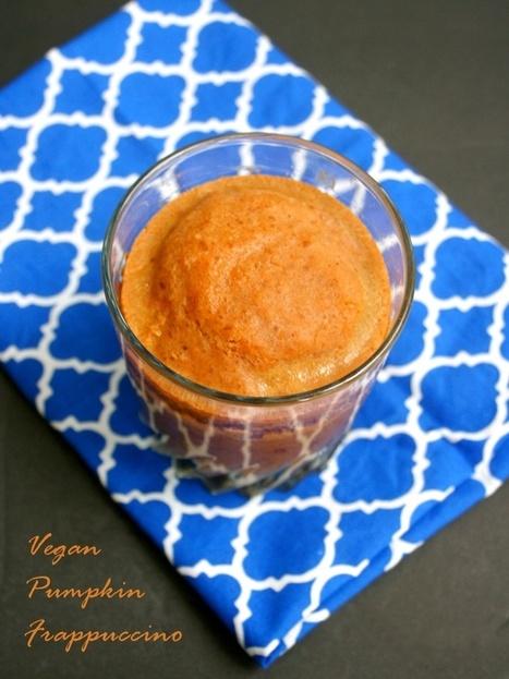 Vegan Pumpkin Frappuccino Recipe (no refined sugars!) | My Vegan recipes | Scoop.it