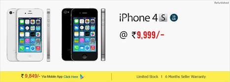 Iphone 4s at Best Price on GreenDust.com   greendustindia   Scoop.it