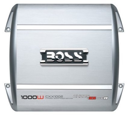 Boss CXX1002 Chaos Extreme 1000 Watts 2-Channel MOSFET Power Amplifier | Car Stereo Systems | Scoop.it