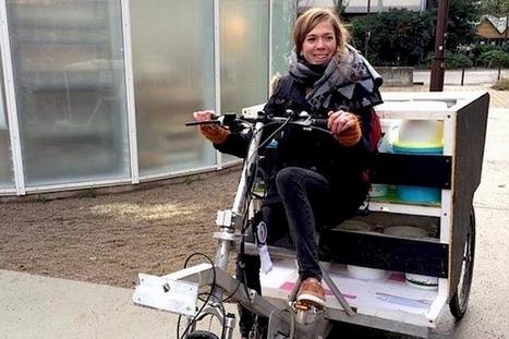 La Tricyclerie : une collecte de compost à vélo | AMAP - Bio | Scoop.it