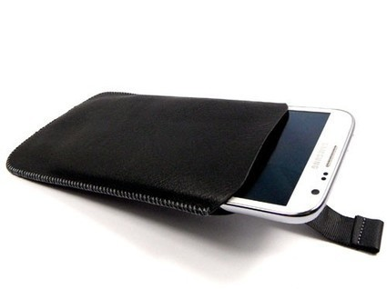 Black Pull Our Pouch for Samsung Galaxy Note II 4G | Mobile Phone Accessories | Scoop.it