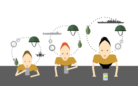 5 Reasons the Military is Switching to mLearning | An Eye on New Media | Scoop.it