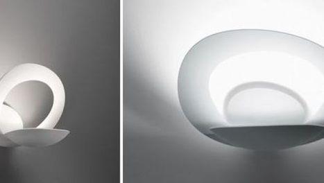 Artemide Pirce a parete, il design futurista di Giuseppe Maurizio ... - DesignerBlog (Blog) | Francesco Torremano | Scoop.it