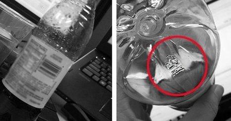 Voici ce que vous devez regarder sous les bouteilles d'eau avant de les acheter... Vous allez être surpris ! | Frans en mixed media | Scoop.it
