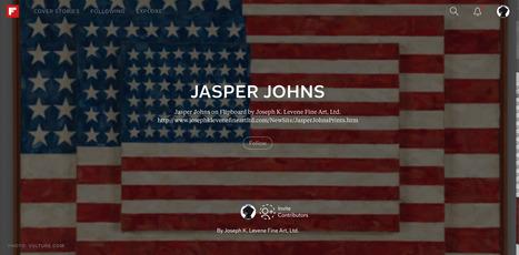 Follow Jasper Johns  on Flipboard   Jasper Johns   Scoop.it