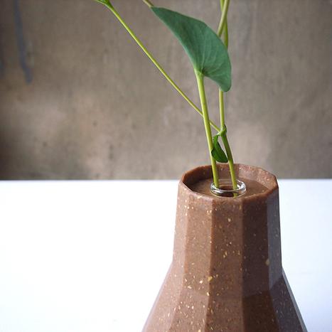 Flower Vase Flips Into Biodegradable Planter | Urban Gardens | Annie Haven | Haven Brand | Scoop.it