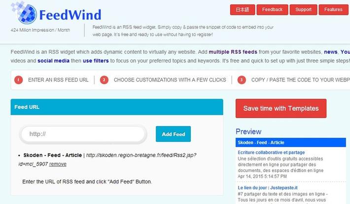 Portail Skoden pour la formation ouverte et à distance - Le lien du jour : FeedWind | TIC et TICE mais... en français | Scoop.it