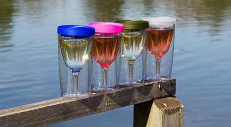 Vino2Go Portable Wine Glass | Technology, Gadgets & Gizmos | Scoop.it
