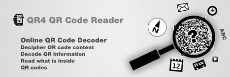 Online QR-Code Reader   Informatics Technology in Education   Scoop.it