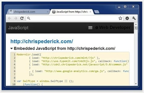Useful Chrome Extensions for Web Development | feed2need.com | Scoop.it