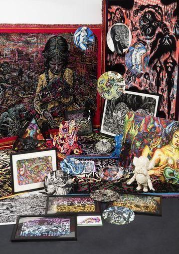 Goudron pressage - Sillon tympan   TextielMuseum   Scoop.it